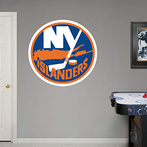New York Islanders Logo Fathead Wall Decal